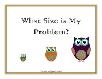 What Size Is the Problem?