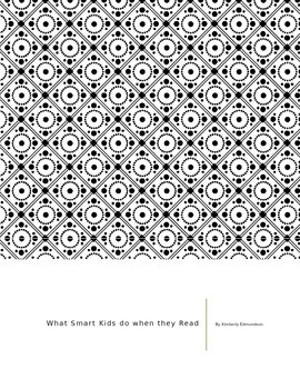 What Smart Kids Do When They Read