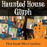 Halloween Math Activities-A Halloween Haunted House Glyph