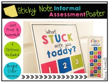 What Stuck With You Today? Poster
