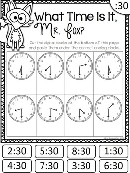 Telling Time by All Students Can Shine | Teachers Pay Teachers