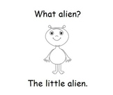 """""""What, The, My, A, Little"""" Sight Word Book"""