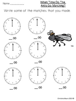 What Time Do The Ants Go Marching?