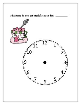 What Time Do You....