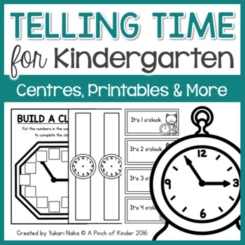 What Time Is It? A Kindergarten Time Unit