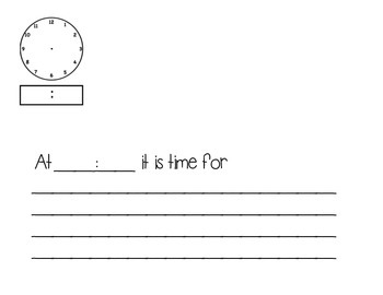 What Time Is It Collaborative Book