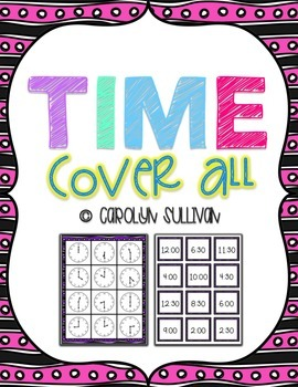 What Time Is It? Cover All For Hour and Half Hour
