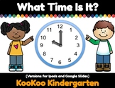 What Time Is It? Digital Math Center for Distance Learning