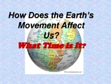 What Time Is It? How the Earth's Movement Affects Us.