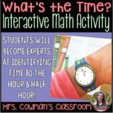 What Time Is It? - Interactive Math Activity