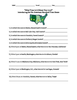What Time Is It? Introducing American Standard Time Zones Assignment