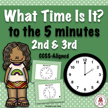 What Time Is It? - Task Cards
