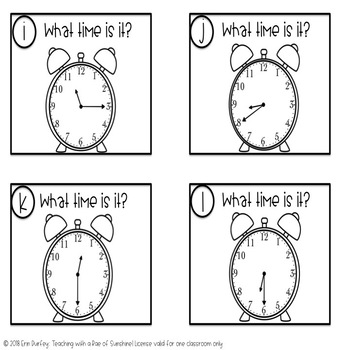 What Time Is It? Telling Time to 5 minutes