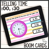 What Time Is It? Telling Time to Hour and Half-Hour Boom C