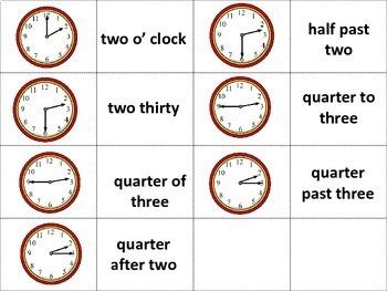 Beginner ESL: Time Worksheets