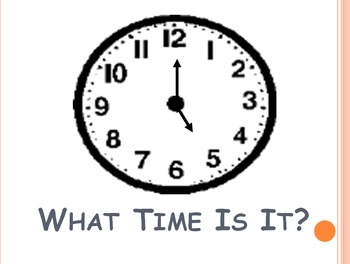 What Time Is It? (Powerpoint)