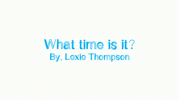 What Time Is It? Telling Time worksheets! Easy