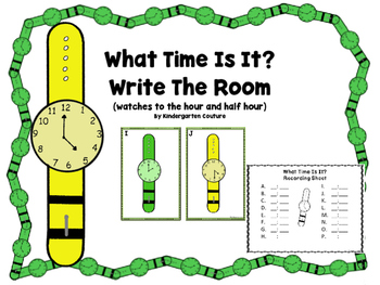 What Time Is It?  Write The Room Watches