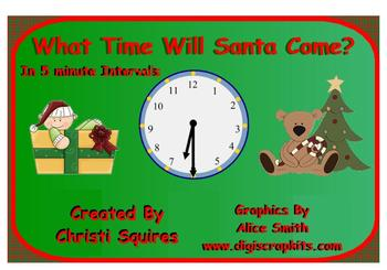 Telling Time In 5 Minute Intervals