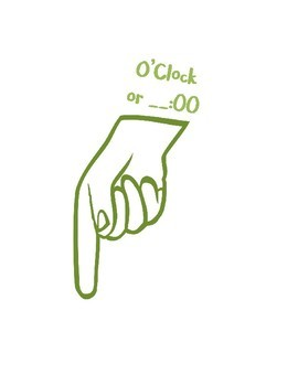 What Time is It? Clock Hand Helpers