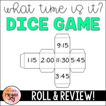 What Time is It? Dice Games
