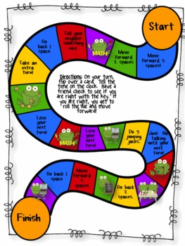 What Time is It?  Games, Activities and More to Practice Telling Time