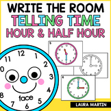 Telling Time Write the Room | Distance Learning