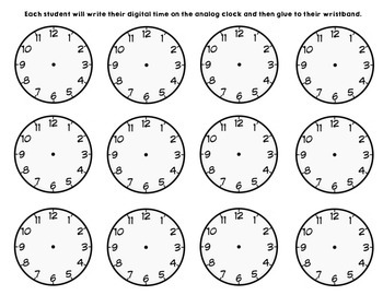 What Time is It? Time to the Hour, Half, Quarter Watch Around the Room