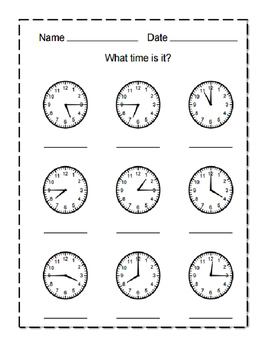 What Time is it? 2