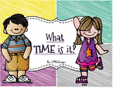 What Time is it? Classroom Interactive Practice (4 Corners Game)