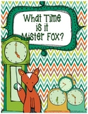 What Time is it Mr. Fox? {analog time}