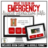 What To Do In An EMERGENCY Digital Interactive Activity - Safety