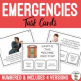 Emergency Task Cards #AUSTEACHERBFR