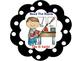 What To Do Next Bilingual Chart-Polka Dot Theme (Black)