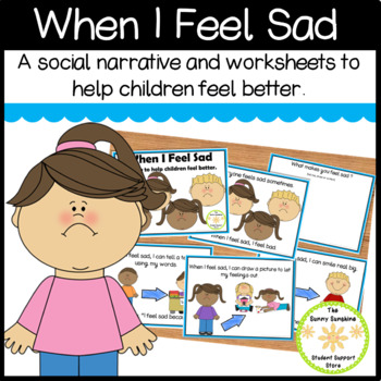 Being Sad Social Story