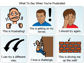 Frustration - Visual Choice Board