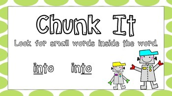 What To Do When You're Stuck On a Word Posters Robots and Lime Green