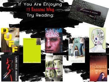 What To Read When You Finish 13 Reasons Why