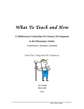 What To Teach and How: Sequences Level 1