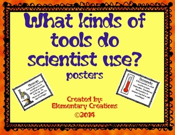 Science Tools Posters
