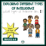 Exploring different types of intelligence