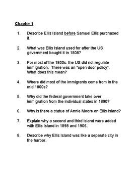 What  Was Ellis Island? Book Study