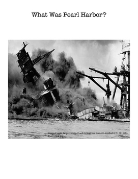 What Was Pearl Harbor? - SAMPLE