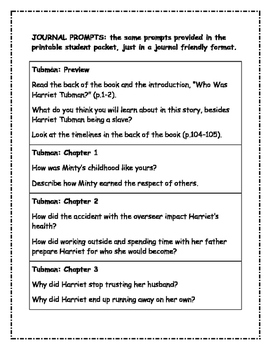 What Was? Who Was? Who Is? Black History Bundle of 5 Comprehension Packets