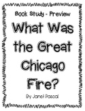 What Was the Great Chicago Fire? Book Study Preview