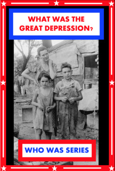 What Was the Great Depression? Book Unit