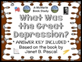 What Was the Great Depression? (Janet B. Pascal) Book Study / Comprehension