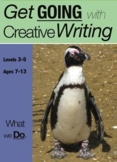 What We Do: Get Going With Creative Writing (And Other Forms Of Writing) 7-13