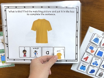 What We Wear: A Real Photo Adaptive and Interactive Book About Clothing