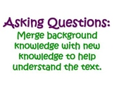 What We Will Learn About Asking Questions- Reading Strategies
